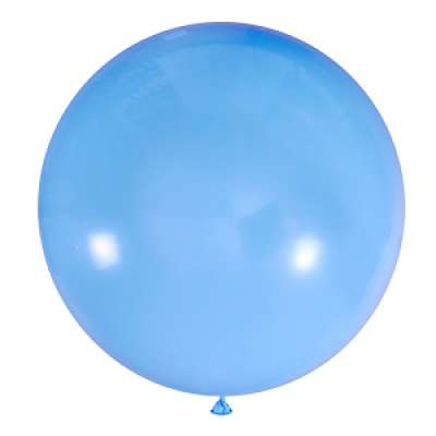 "Шар (24""/61 см) Пастель Light Blue (002), GLOBOS PAYASO, 1 шт."