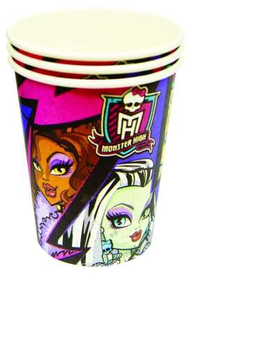 "Стакан ""Monster High"" 250 мл 8 шт"