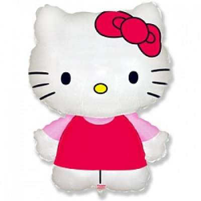 "Фигура (32""/81 см)  ""Hello kitty"", розовый, FM, 1 шт."